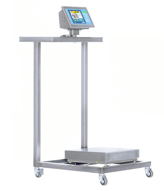 TB60BI-1 Stainless Steel Cart with Low Surface