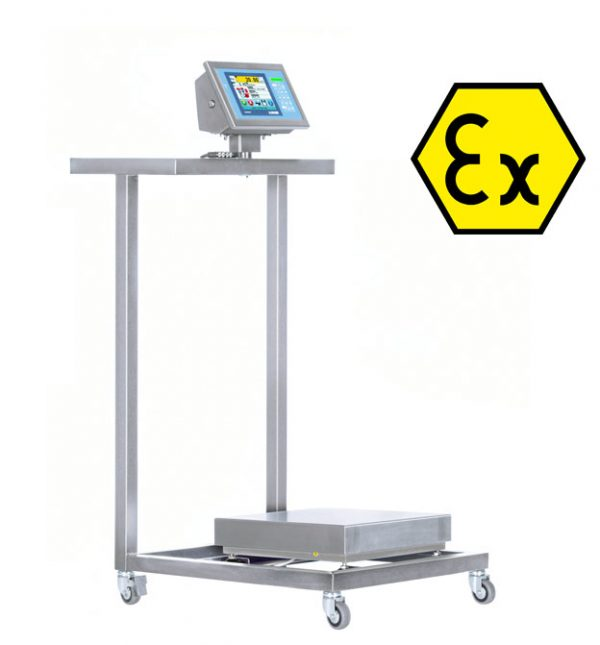 TB60IEX-1 Stainless Steel Low Surface Table