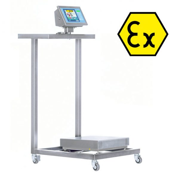 TB60BIEX-1 Stainless Steel Cart with Low Surface