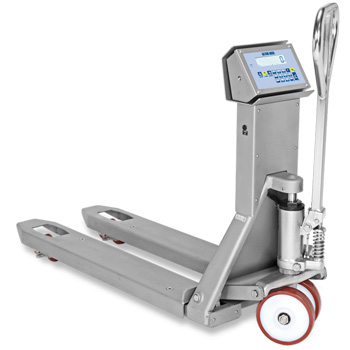 Dini Argeo TPWID stainless steel pallet truck scales