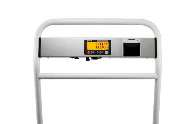 Cart-300 Portable trolley scales with clear back-lit LCD display