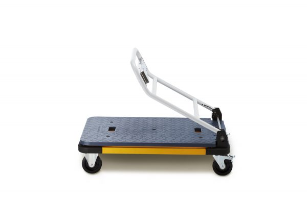 The Cart-300 with folding display rail