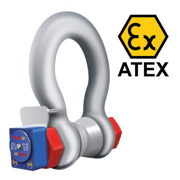Crosby-Straightpoint ATEX Loadshackle Wireless Shackle Load Cell