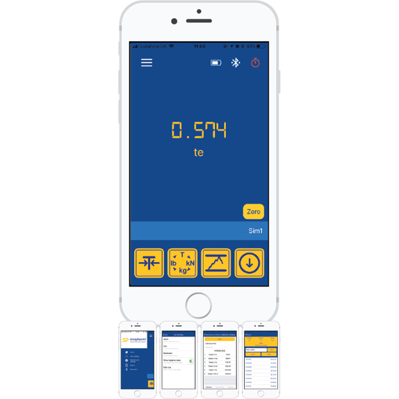 Straightpoint HHP App with Screen Examples