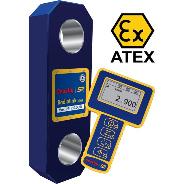Straightpoint ATEX Radiolink Plus Supplied with Handheld Plus Wireless Display Unit as Standard ATEX