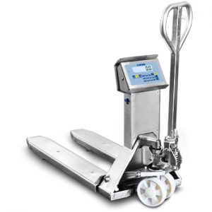 TPWI Pro Stainless Steel Pallet Truck Scales form Dini Argeo