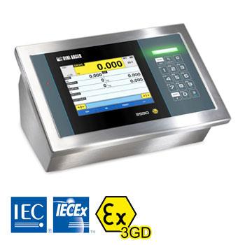 3590EGT-IECEX3GD Touch Screen ATEX Dsplay Unit