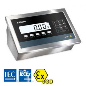 DFW-IECEX3GD ATEX Weight Display from Dini Argeo