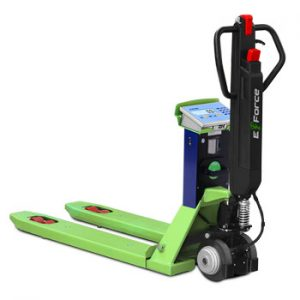 Dini Argeo TPW E-Force Pallet Truck Scales with Electric Traction Tiller