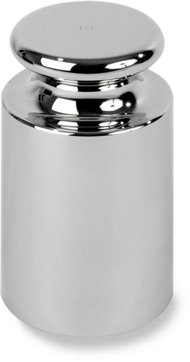 Ohaus OIML E1 Stainless Steel Cylindrical Test Weight - 10kg