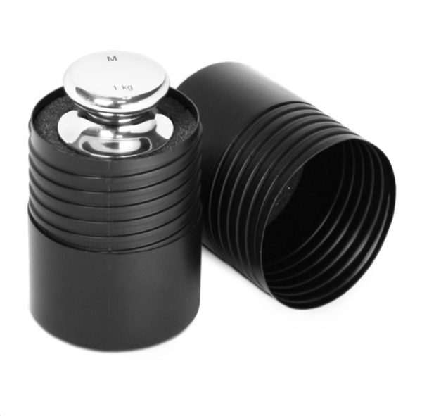 All single Cibe F1 weights are supplied in plastic carry case