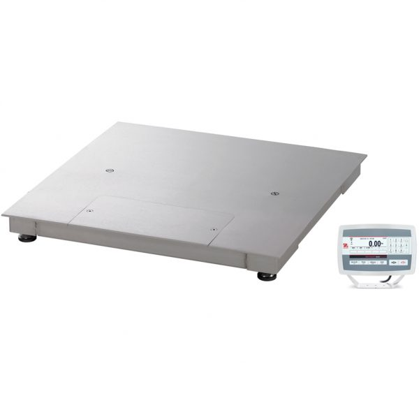 Ohaus Defender 5000 Wash Down Floor Scales - Full Stainless Steel Construction