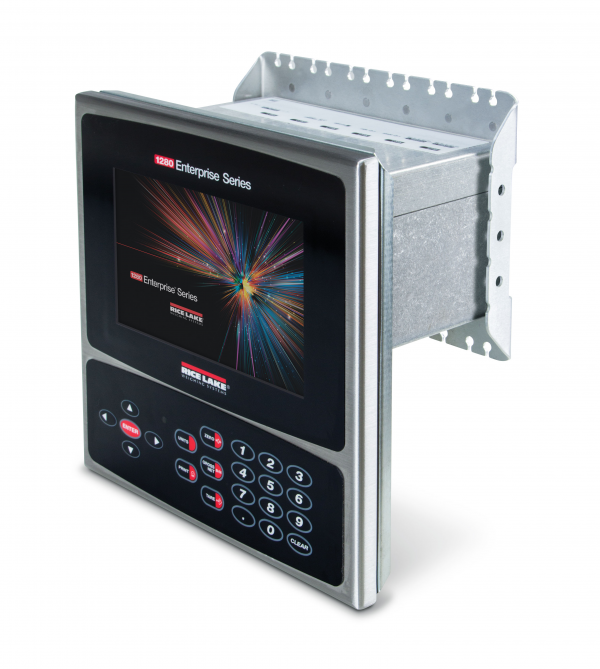 Rice Lake 1280 Enterprise Programmable Touch Screen Display for Panel Mount Enclosure