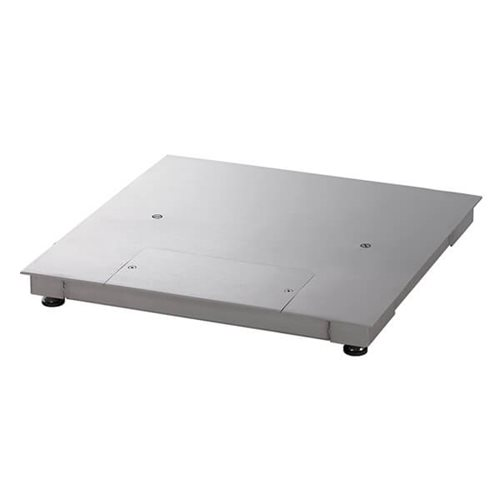 Stainless steel Defender 5000 platform scales from Ohaus