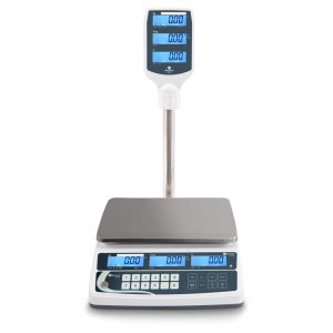 XTA Retail Scales with Pole Display for Shops, Markets, Green Grocers and Butchers