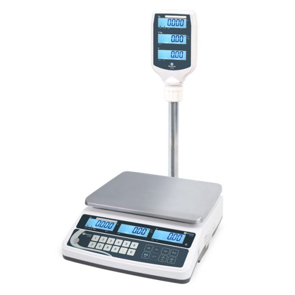 XTA Shop Scales with Easy to Read Pole Display - Trade Approved