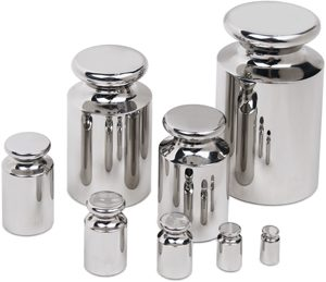 Cibe F1 Precision Class Weights in Stainless Steel
