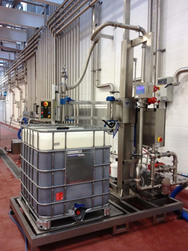 The FT-100 Filling IBC's for Food Production