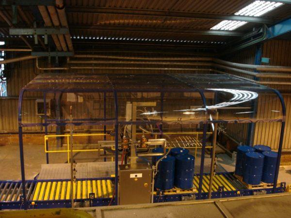 The FT-200 Automatically Fills Multiple Barrels in Hazardous Zones