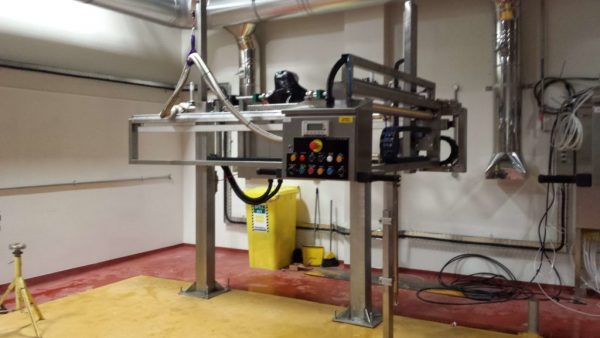 The FT-200 Semi Automated Filling System for Food Production