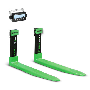 Dini Argeo Twin Forks LTF Series Weighing Forks for Forklift Trucks