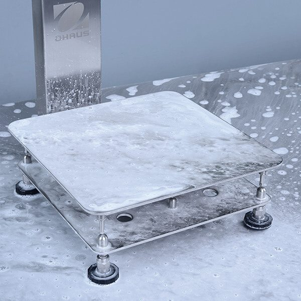 Ohaus Defender 6000 Series a true washdown bench scale for harsh environments.