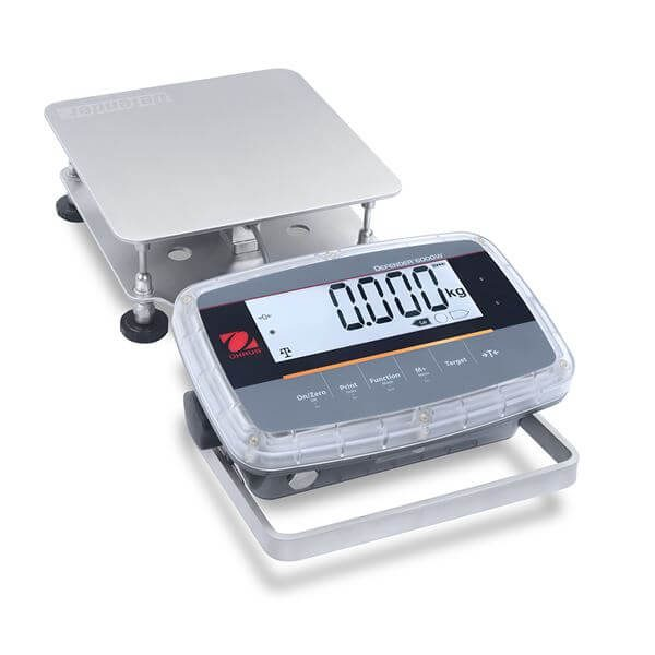 Ohaus Defender-6000_Low-Profile with 250mm x 2500mm Stainless Steel Base