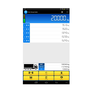 Vehicle Weighing Software